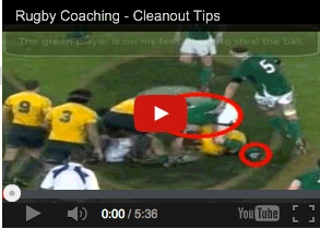 Rugby Coaching Video: Cleaning Out